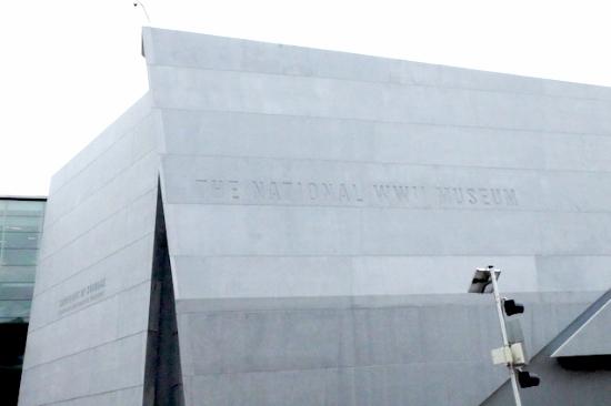 しっかり見て回るには半日かかる。#worldwar#museum#nola#