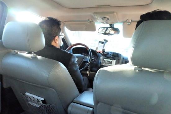 Uber(ウーバー)乗車中〜〜  #uber#losangeles#nora#airport#travel