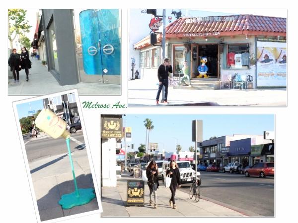 プラプラ歩くだけでも小さいお店が軒を連ねて、ウインドーショッピングが楽しいメルローズAve. #melrose#losangeles#shopping#people.