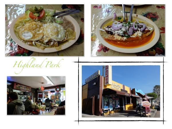 メキシカンレストラン El・Huarache・Azteca(エル・ワラチェ・アズテカ)ここのワラチェ(写真右上)が有名でお昼は満席! #elhuarache#azteca#highlandpark#mexican