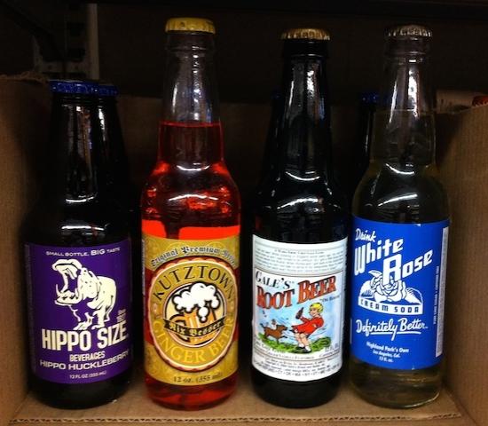 ラベルとかボトルとかコレクションしてる人にはたまらないお店だと思う。#galcos#grocery#highland#park#soda#california