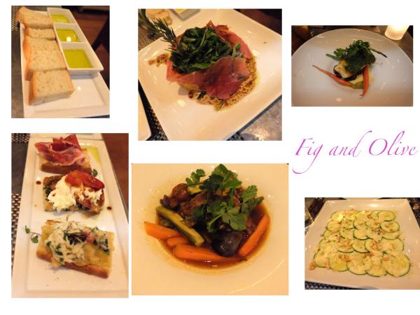 きれいで美味しいお料理たち❤️ #figandolive#dinner#melroseplace#california#dinner
