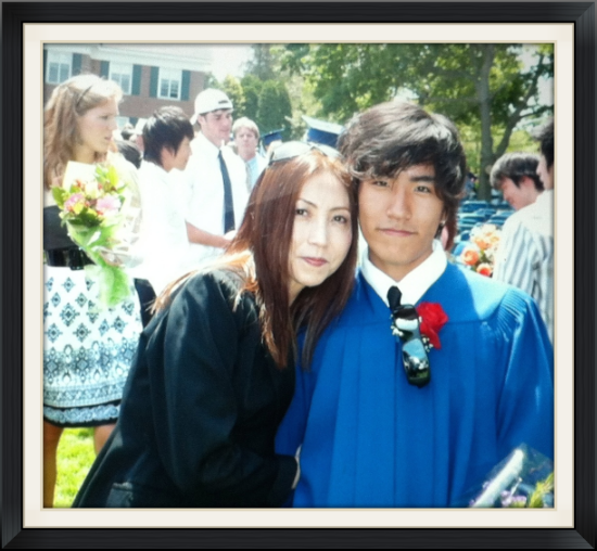 卒業式って親の私の方が大泣きした。。