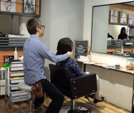 自宅でのスタイリングの方法や髪についてのアドバイスもすごく丁寧にしてくれるRYUさん
