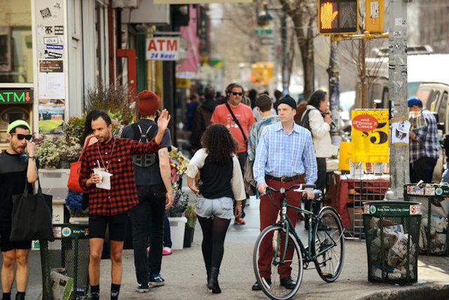 若いエネルギーと「ing」が溢れる街 Brooklyn