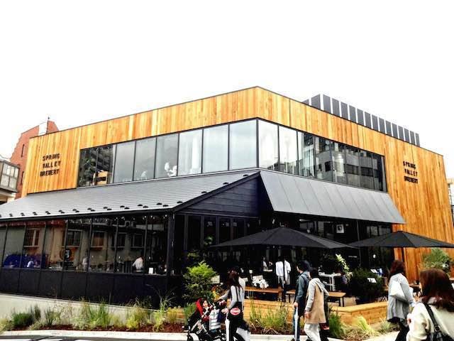 『SPRING VALLEY BREWERY TOKYO』は作りたてクラフトビールが楽しめるブルワリー併設のオールデイダイニング♡これからの季節はたまらないっ!
