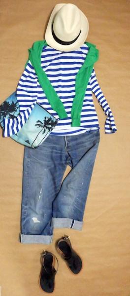 大人だからこそかっこ良く見えるカジュアルコーデ♡ #celine#levi's#drawer#ronherman#borsalino