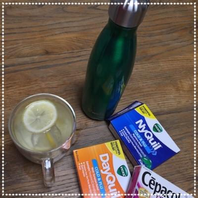 また3−4日ダウンした。。HOTレモン&ジンジャーばかり飲んで。。