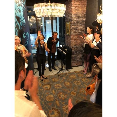 マリーンさんと、ジャズピアニストのクリヤまことさんの贅沢ライブ♡♡♡