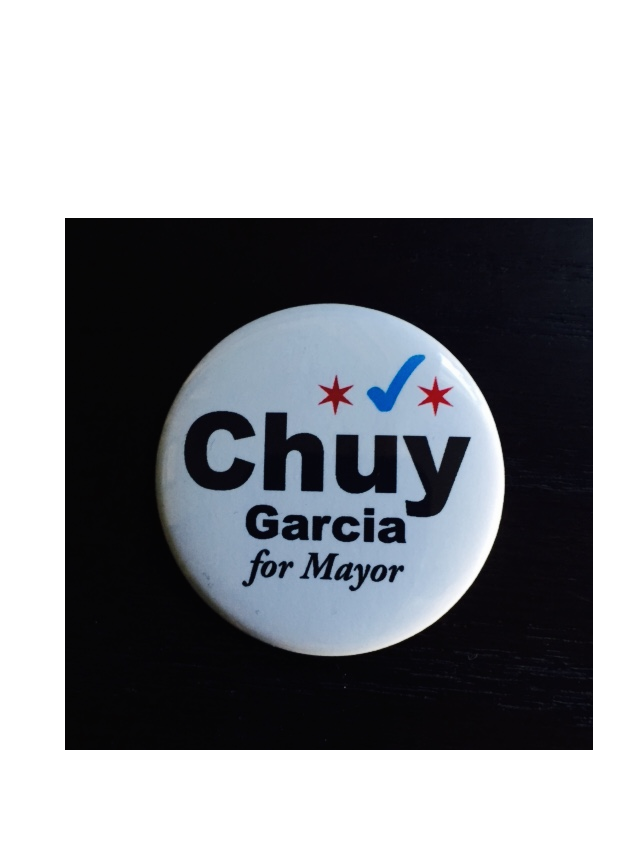 Can Chuy beat Rahm?  Read more at Politico.