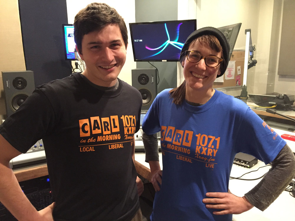 XRAY staffers and on-air contributors Ryan Streur and Katie Bush