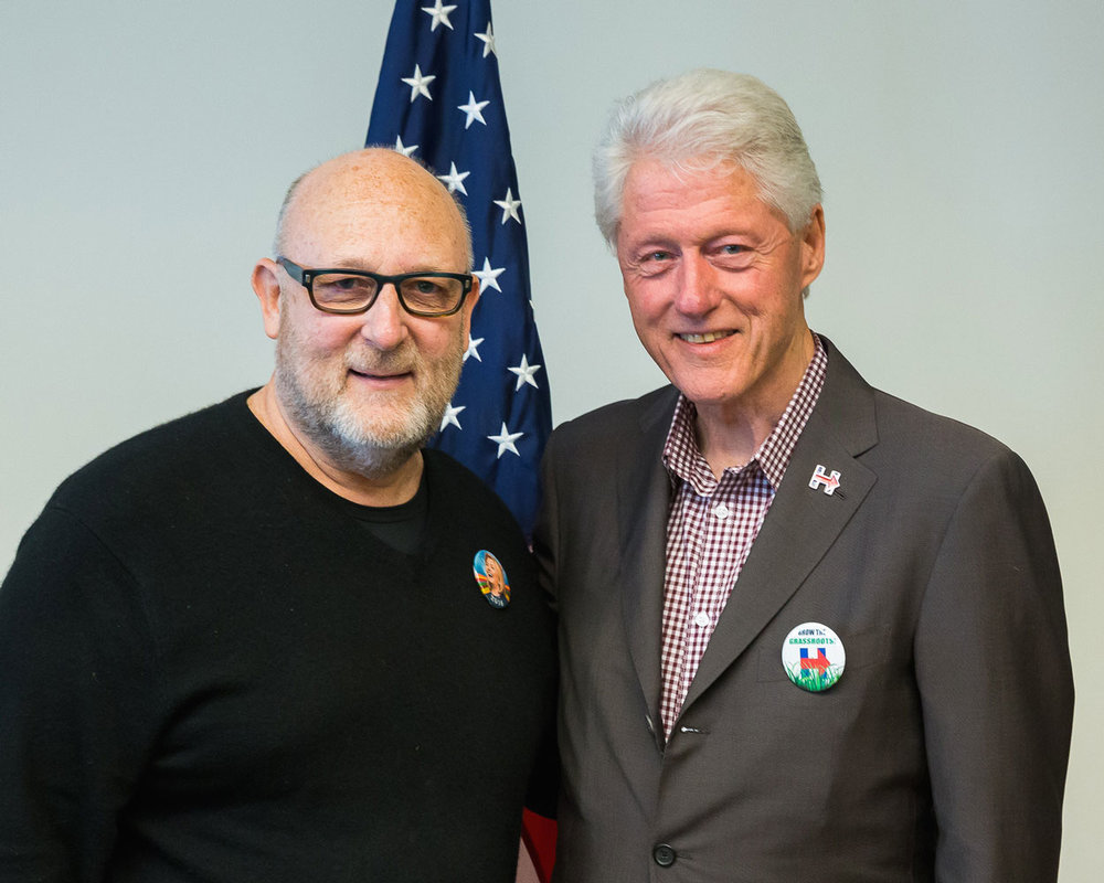 Two proud Hillary supporters in 2016!