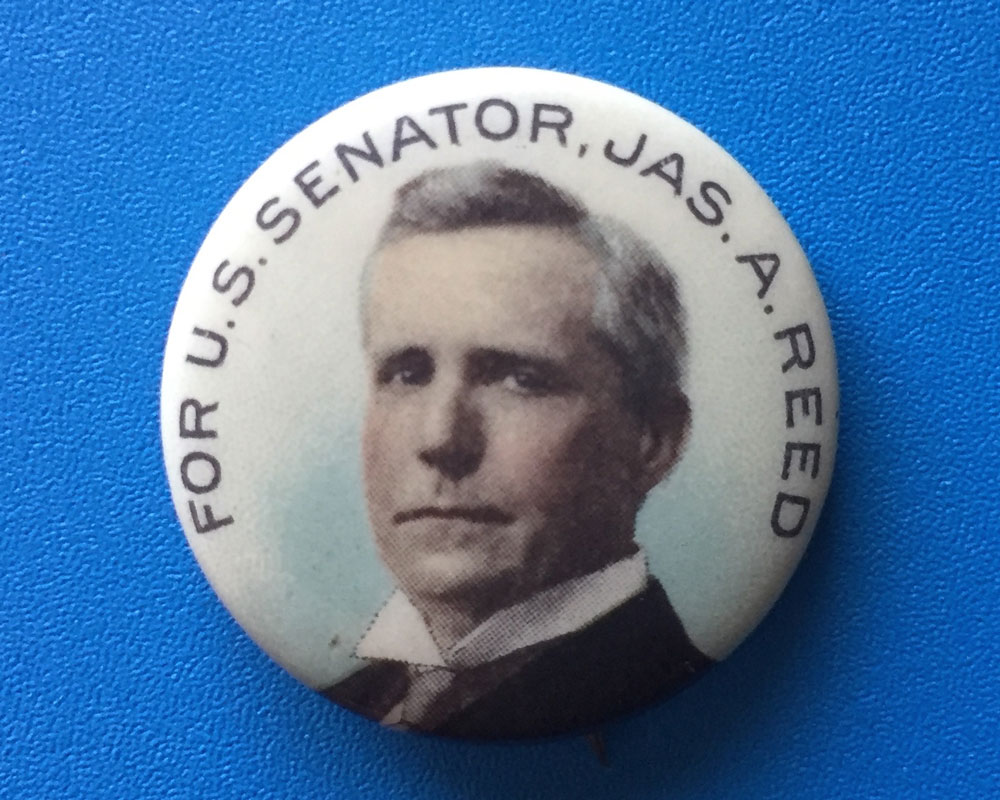 Senator James A. Reed (1911-1929) is the reason Missouri is the only state with two Federal Reserve Banks.