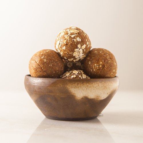 Utta Nutta Chai Spiced Peanut Butter Protein Balls