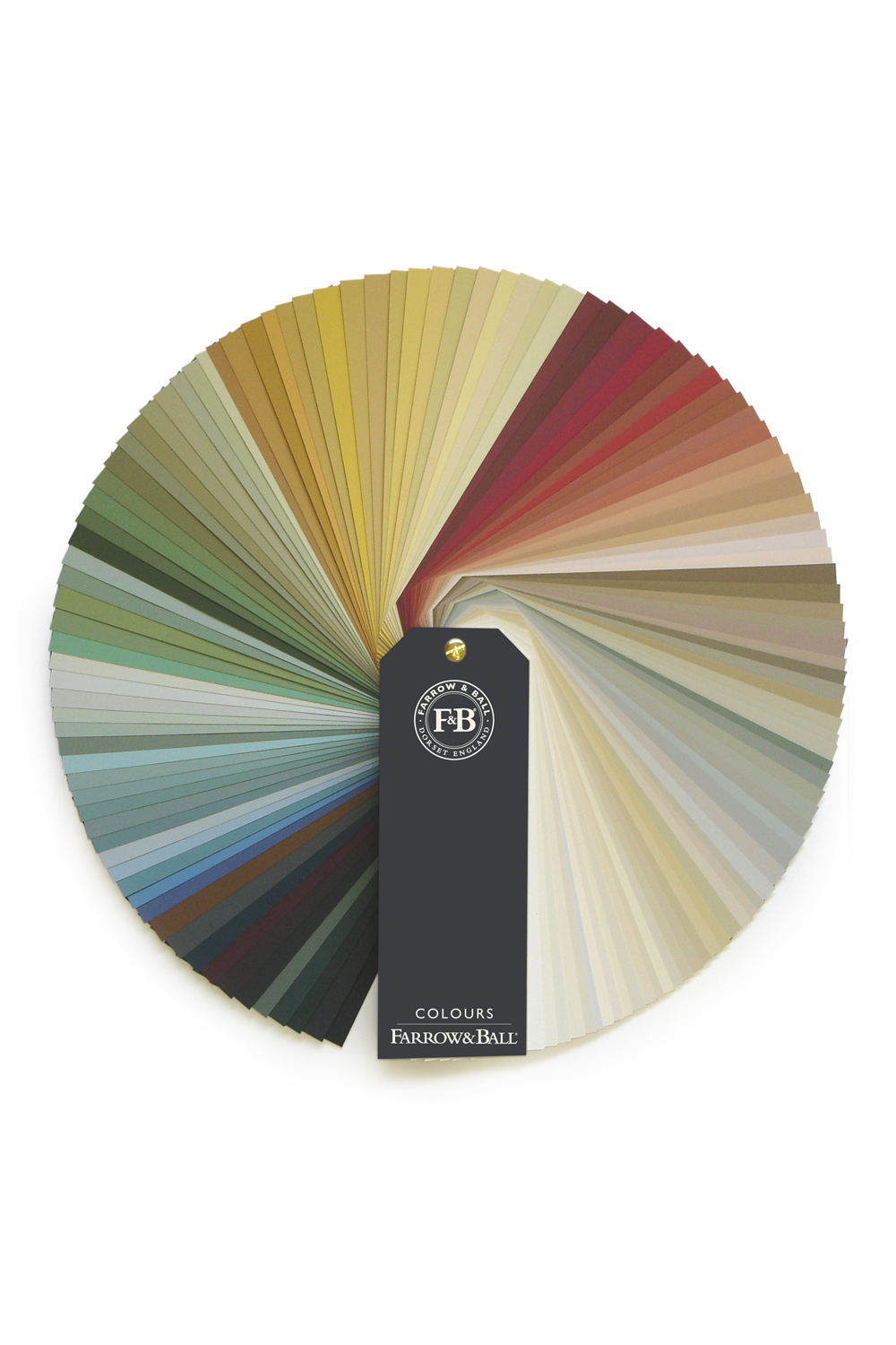 Farrow and Ball Fan Deck