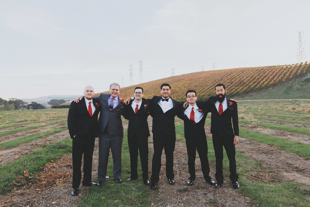 The groomsmen for the day!