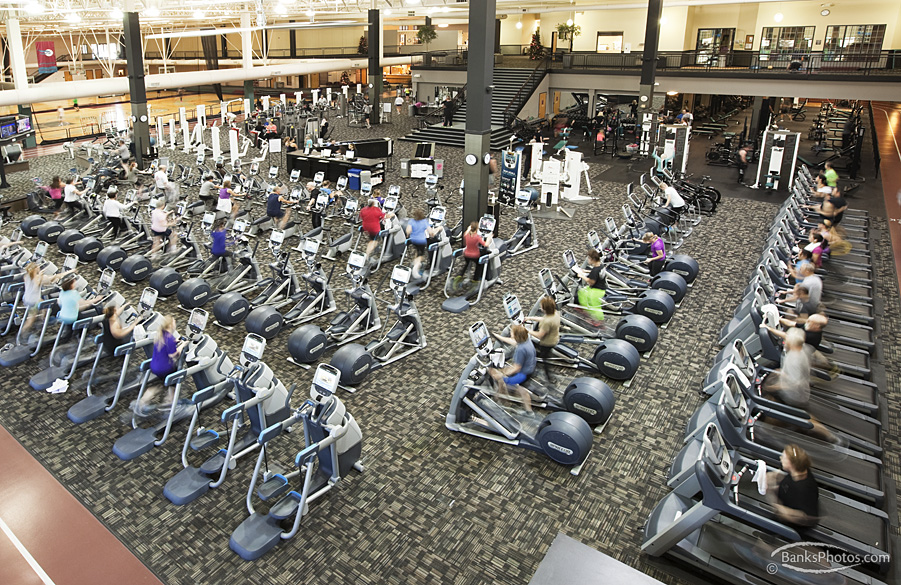 Rochester Athletic Club Fitness Floor
