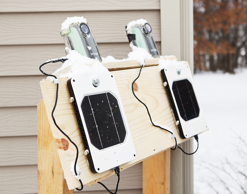 Brinno_TLC-200_Solar_Panel_Winter_Test