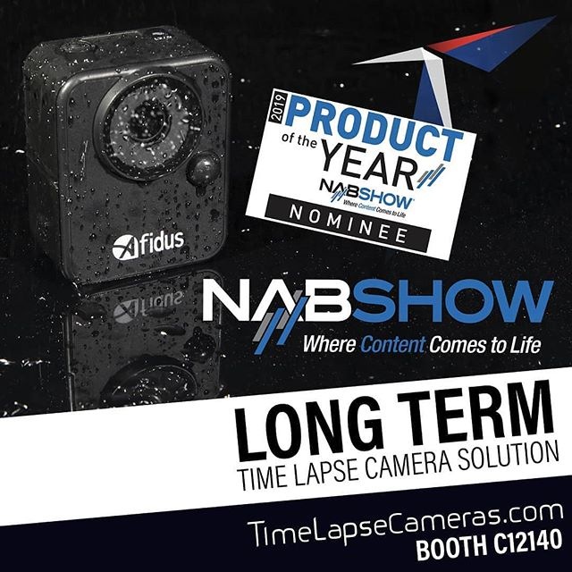 For my time lapse friends, this has been a long road and next week the road gets very exciting. From my first long term time lapse with a Brinno camera in 2013, to now having a camera which is up for Product of the Year @NABShow. Wow! • This is my personal account, to follow the action tap over to @timelapsecameras. Marie @myold1875, Darryl @darryldahl and I will be in Vegas, a week from today, for the largest video, media and photography trade show in North America. There is a lot of buzz around our 100 sq. feet and the @timelapsecameras team and IG will be busy next week. •••• Repost: @timelapsecameras •••• T-minus one week until Vegas. There is a lot going on around here and the to-do list feels like it's growing when it should be shrinking. We are going to veer slightly off track from our day-to-day content the next two weeks. The @NABshow, is the largest video, media and photography show in North America. 2 million square feet, 2K+ exhibitors, 100K attendees and the Afidus long term time lapse camera has been nominated for Product of the Year. Follow along for some unique action, fun and stories from our proud 100 sq. ft. at NAB. • You can find all the camera details by tapping our profile link. Yup, it's IP65 weather resistant without a housing. DM or call if you have any questions. • Graphic by @myold1875 • • • • #nabshow #nabshow2019 #nab2019 #videogear #videomaking #videomakers #filmmakers #filmmaking #contentcreation #moviemaker #contentcreator #videocamera  #contentcreator #indiefilmaking #videoproduction #cameragear #brinno #filmproduction #videomaker #videographer #longtermtimelapse #camerageek #timelapsecameras #afidusatl200 #atl200 #afidus #afiduscam #timelapse #camera #timelapsecamera