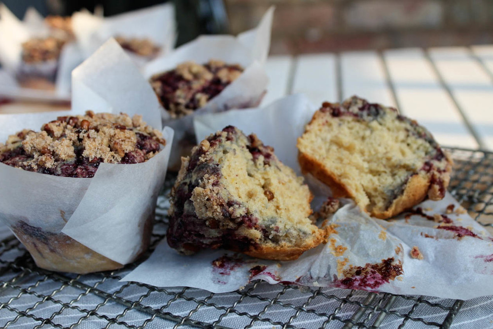 muffins one open-