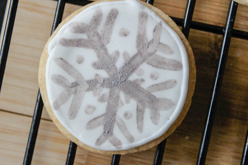 snowflake cookie-
