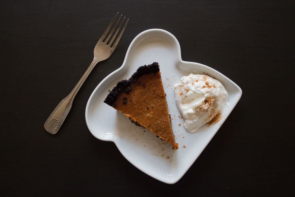 Pumpkin Caramel Pie