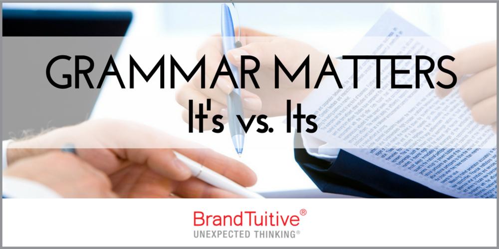 05.31.18 Grammar Matters Its vs. It's.png