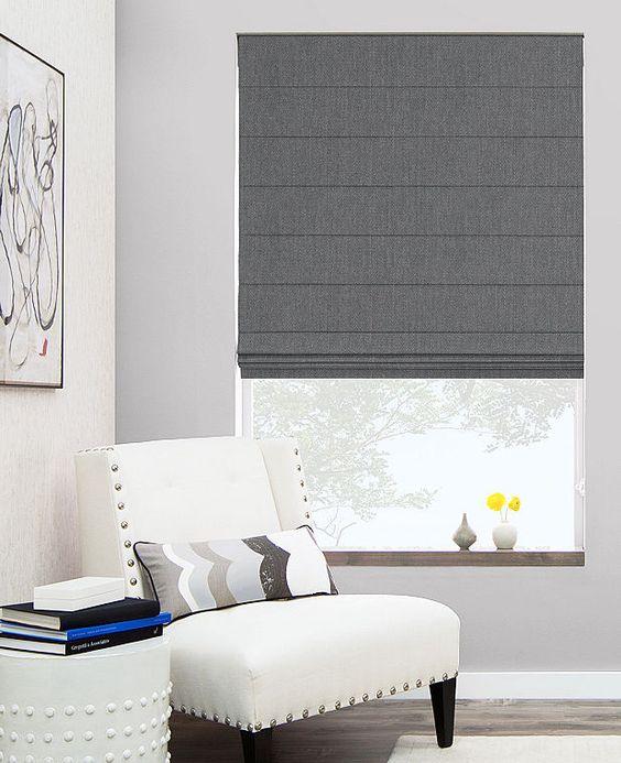 curtains & blinds - roman shades