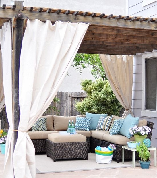 curtains & blinds - outdoor curtains