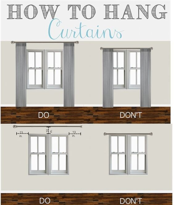 curtains & blinds - curtain tipsdo's & dont's