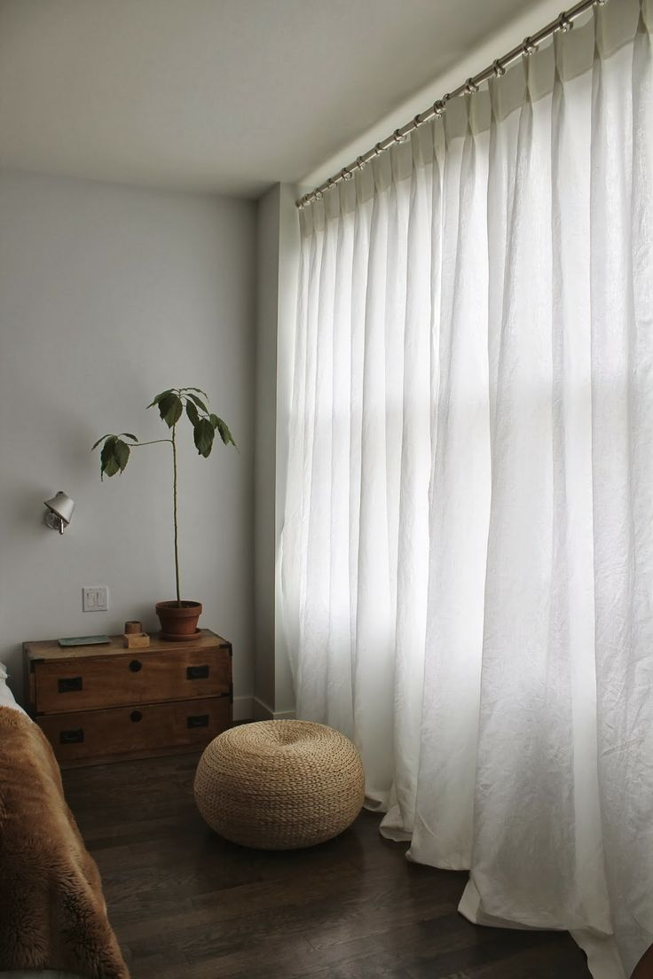 art group curtains - linen