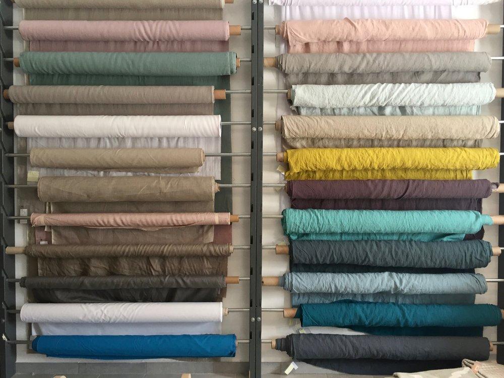 art group textiles - linen fabrics