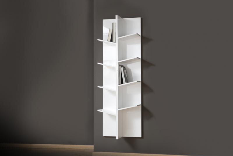 tree bookcase -50%1 pc left(*NOTE THAT THE PRODUCT AVAILABLE IS IN ORANGE COLOUR) - DIMENSIONS: 60*180