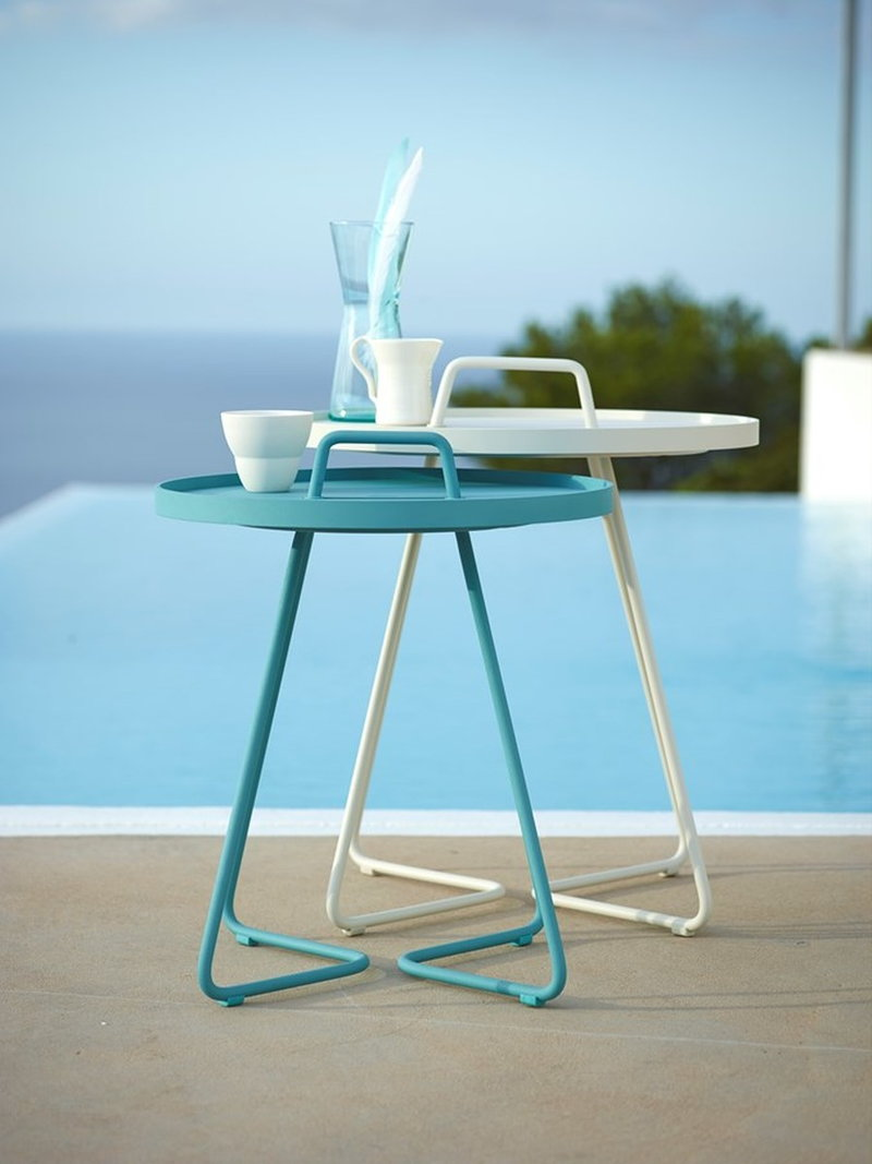 2 sizesavailable - Outdoor table -30%6 pcs left (col.off white,turquoise,dark blue,dusty pink)