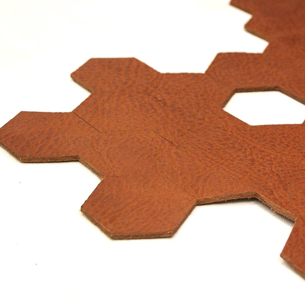 Leather Rug Design