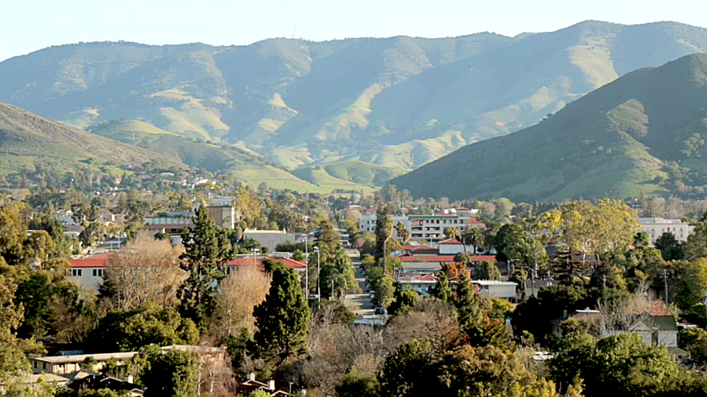 San Luis Obispo, aka SLO-Town, the Happiest City in America, according to Oprah.