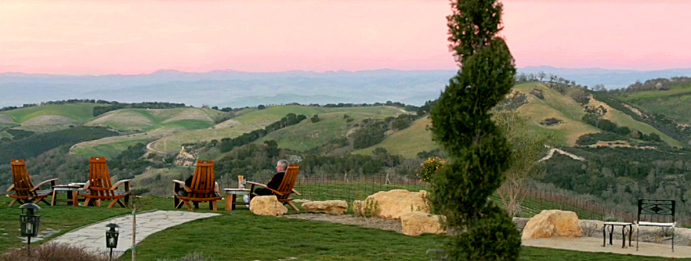 View from one of over 100 wineries in Paso Robles.