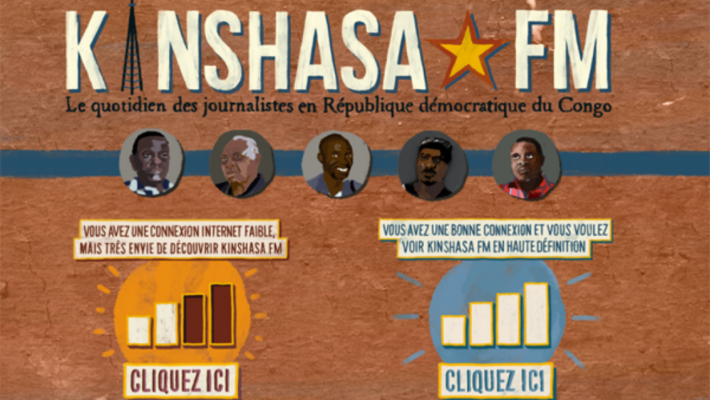 Kinshasa FM : un web documentaire sur le journalisme en RDC (ADIAC)