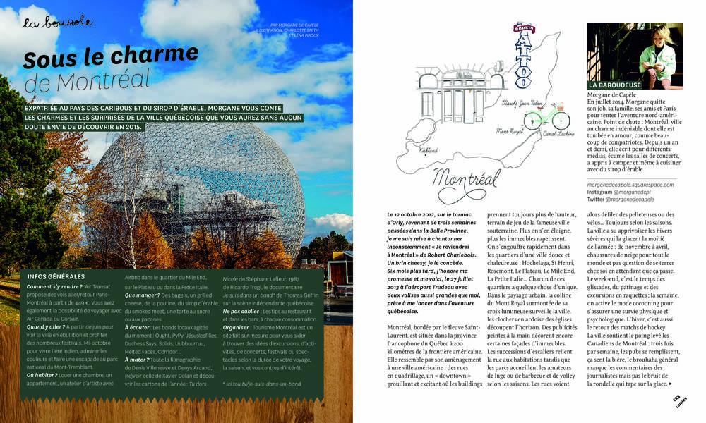 Sous le charme de Montréal (1/2) (Paulette Magazine)