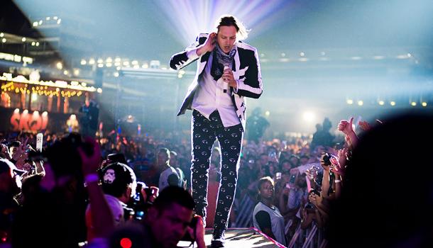 Le grand carnaval d'Arcade Fire au parc Jean Drapeau (Huffington Post)