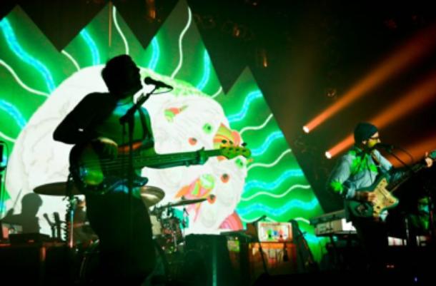 2e jour de Pop Montréal : le concert de Portugal. The Man au Théâtre Corona VM. (Patwhitec.com)