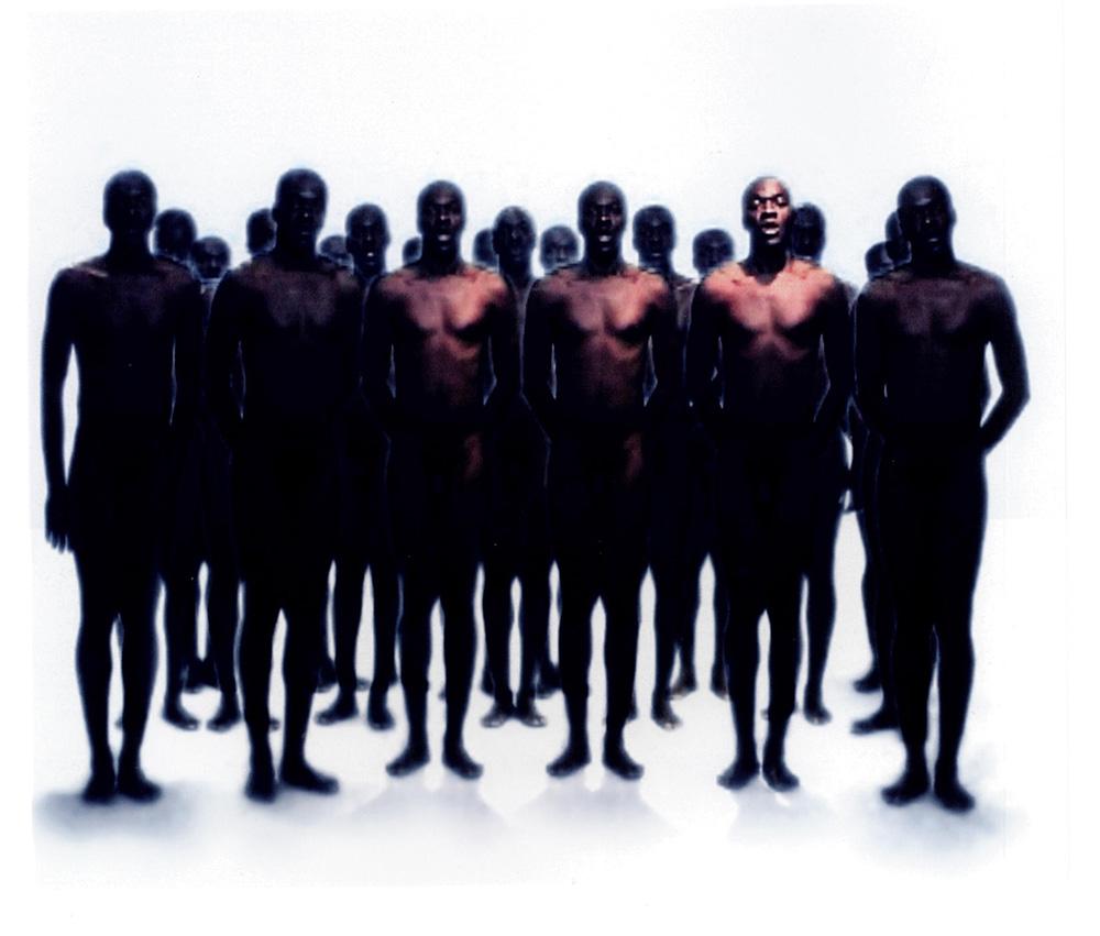 Moridja Kitenge, l'art comme matière première