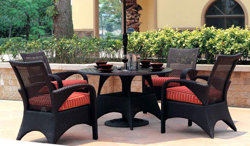 cayman wicker dining set patio renaissance outdoor furniture jpg