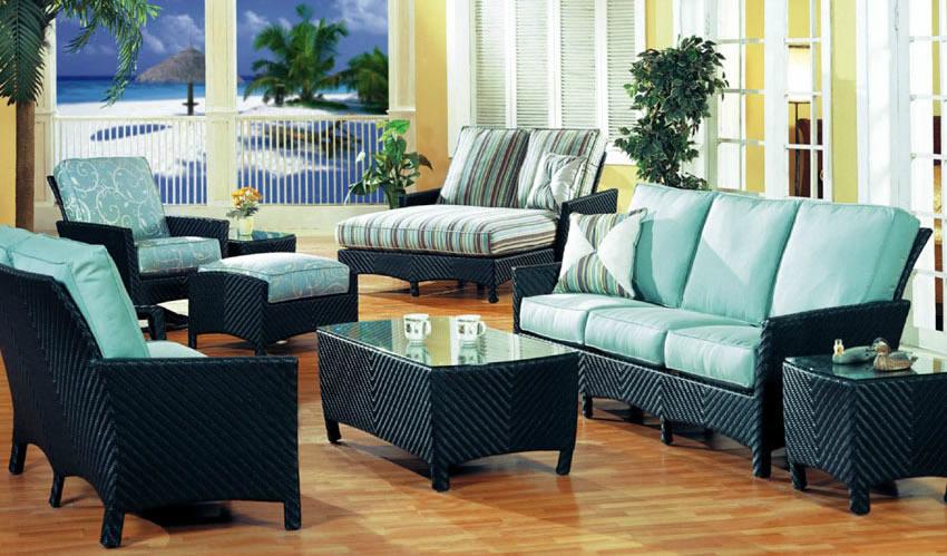Huntington Wicker Outdoor Sofa Patio Renaissance Outdoor