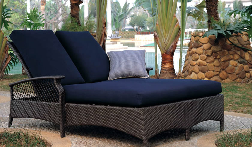 Odessa Wicker Chaise Loubne Patio Renaissance Outdoor Furniture