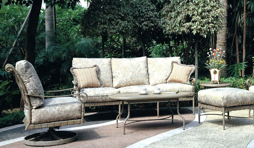 Patio Renaissance Forenze Cushion Outdoor Dining Furniture Charlotte NC