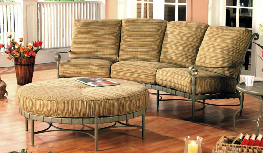 Patio Renaissance Forenze Cushion Outdoor Dining Furniture Charlotte NC 2