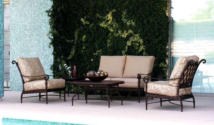 Patio Renaissance Forenze Cushion Outdoor Dining Furniture Charlotte NC 3