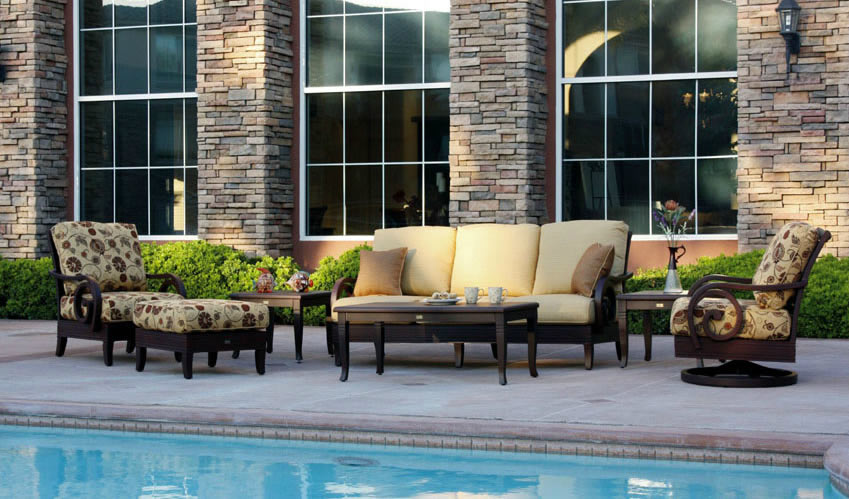 Patio renaissance naples outdoor leisure furniture for Outdoor furniture 28277