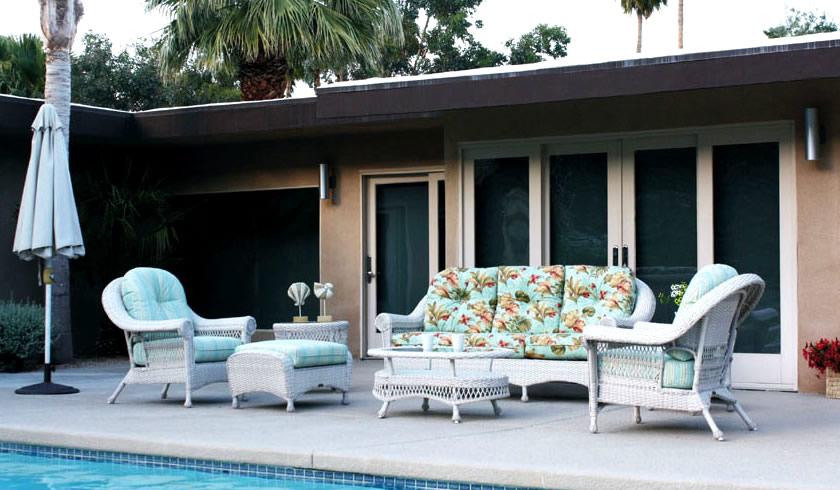 Tuscany Wicker Sofa Group 2 Patio Renaissance Outdoor
